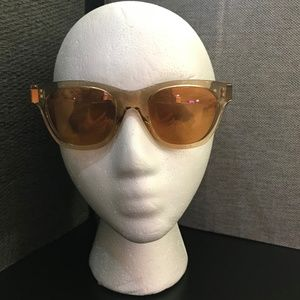 UNUSED Christopher Kane 49mm Square Sunglasses